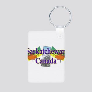 Saskatchewan Aluminum Photo Keychain